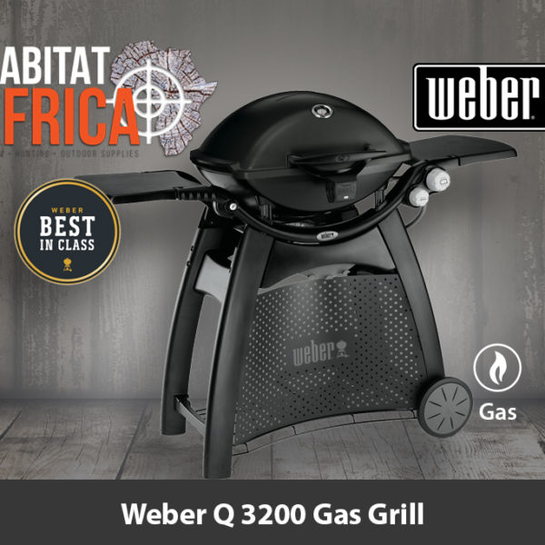 Weber Q 3200 Portable Gas Grill and Stand Black - Best in Class
