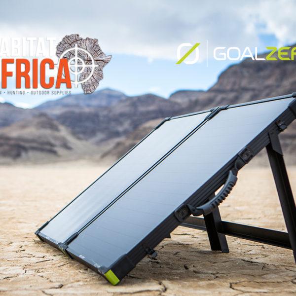 Goal Zero Boulder 100 Briefcase Solar Panel Charging