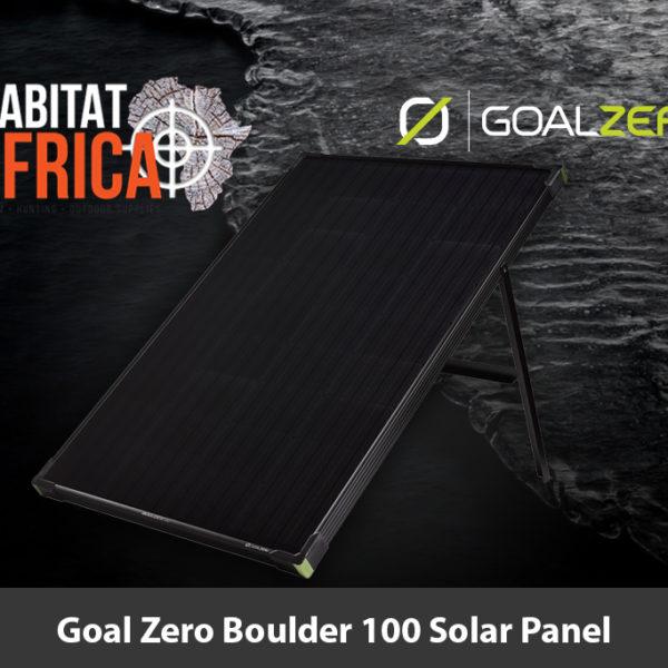 Goal Zero Boulder 100 Solar Panel Feature