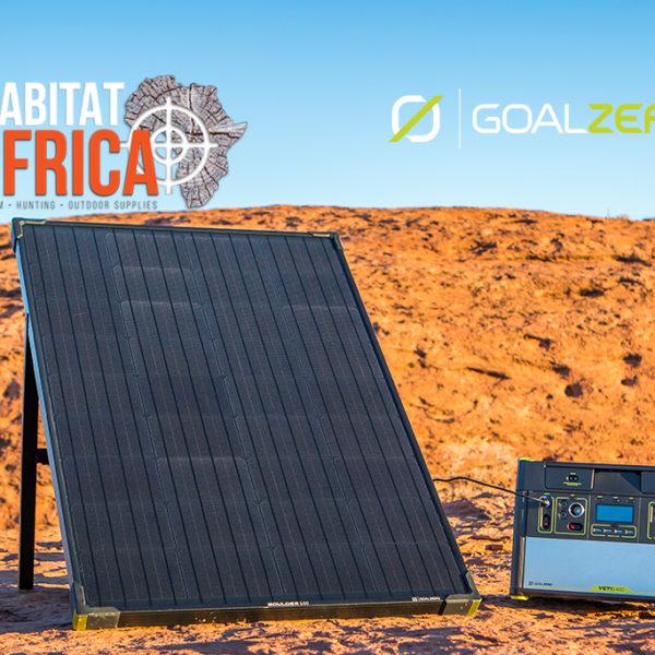 Goal Zero Boulder 100 Solar Panel with Yeti