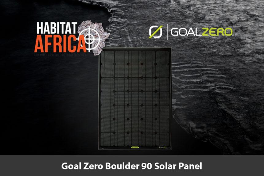 Goal Zero Boulder 90 Solar Panel - Habitat Africa | Outdoor Supplies | South Africa