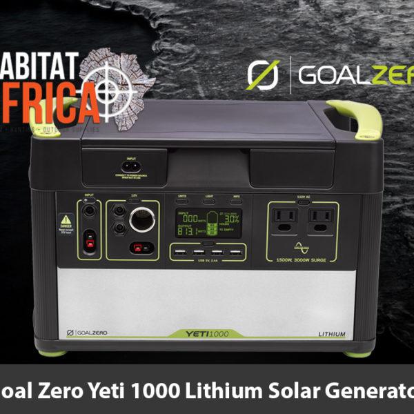 Goal Zero Yeti 1000 Lithium Solar Generator