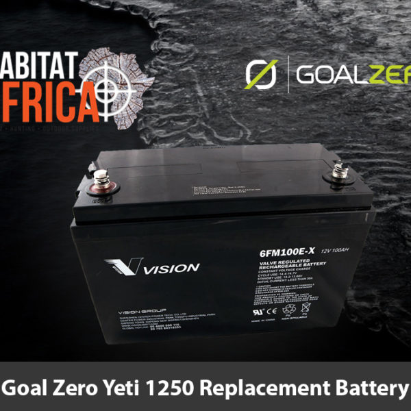 Goal Zero Yeti 1250 Replacement Battery - Habitat Africa | Gun Shop | South Africa