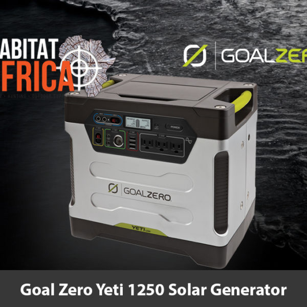 Goal Zero Yeti 1250 Solar Generator