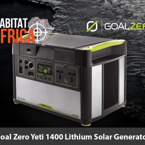 Goal Zero Yeti 1400 Lithium Solar Generator
