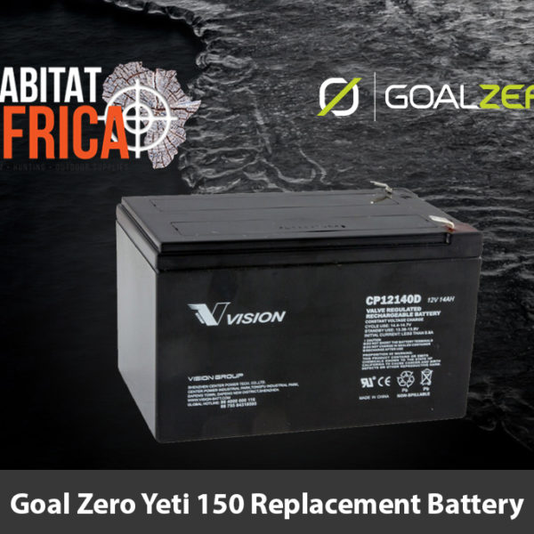 Goal Zero Yeti 150 Replacement Battery - Habitat Africa | Gun Shop | South Africa