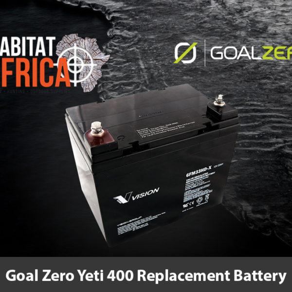 Goal Zero Yeti 400 Replacement Battery - Habitat Africa | Gun Shop | South Africa