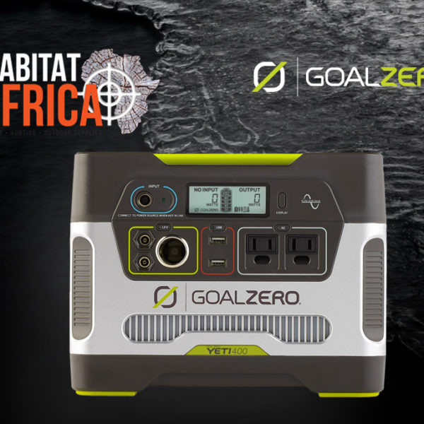 Goal Zero Yeti 400 Solar Generator Display