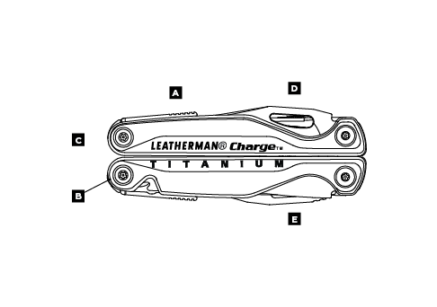 Leatherman Charge TTI Multi-Tool Features