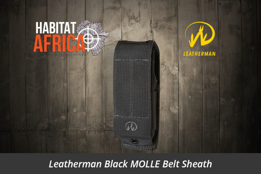 Leatherman Black MOLLE Belt Sheath Black - Habitat Africa | Camping & Outdoor Supplies | South Africa
