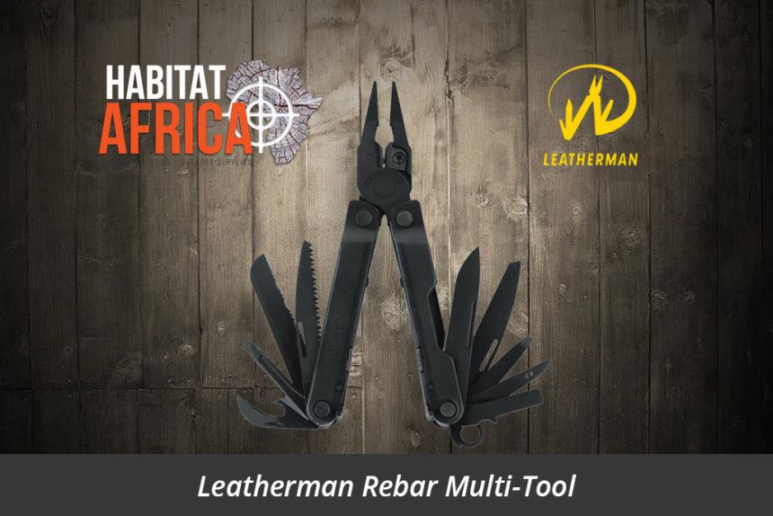 Leatherman Rebar Multi-Tool Black