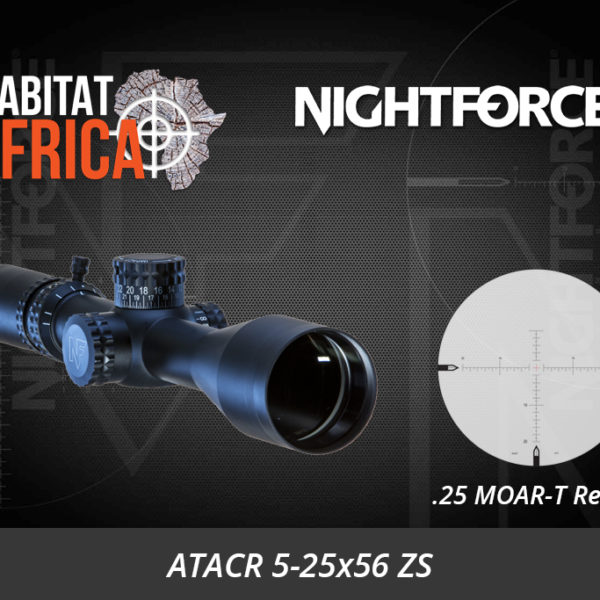 NightForce ATACR 5-25x56 ZS .25 MOAR-T Digillum PTL Riflescope