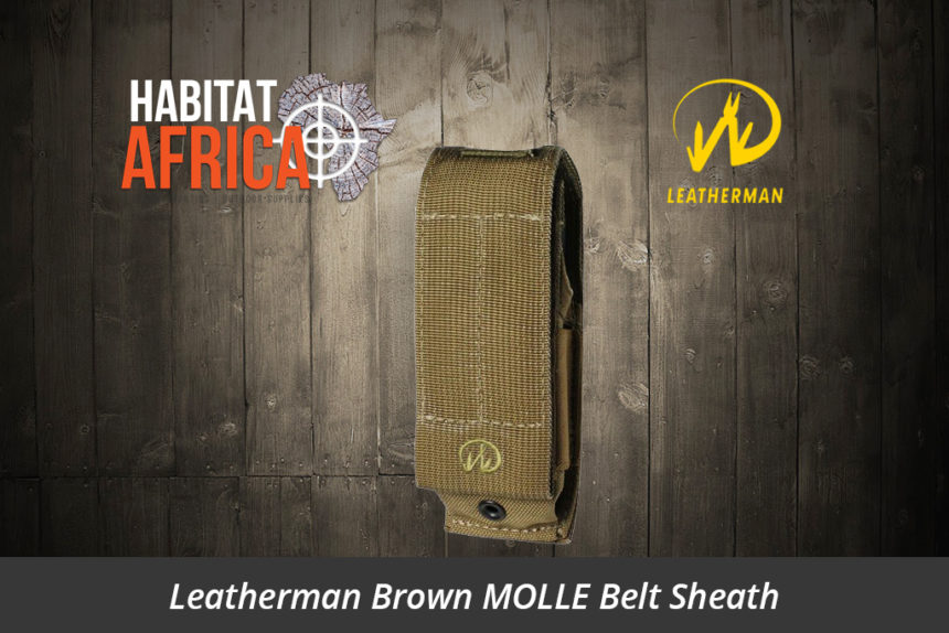 Leatherman Brown MOLLE Belt Sheath - Habitat Africa | Camping & Outdoor | South Africa