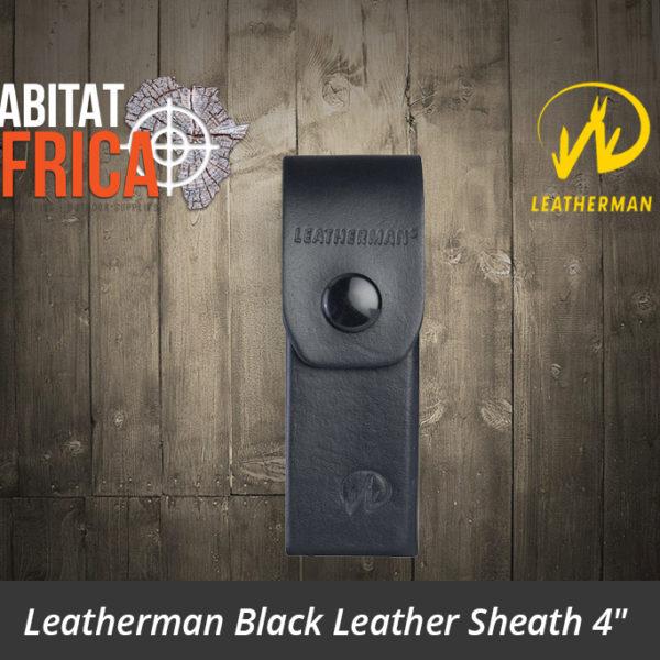"Leatherman Leather Belt Sheath 4"""
