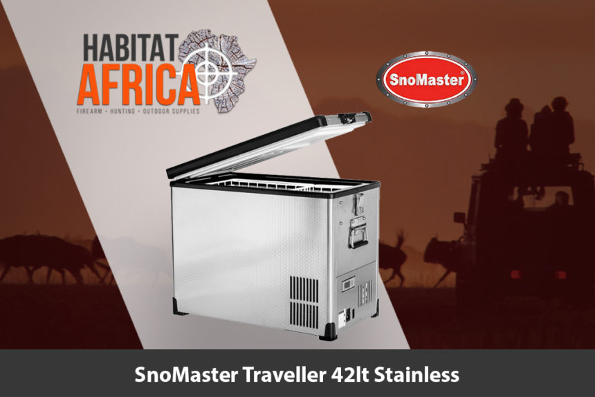 SnoMaster Traveller 42 Litre Stainless Steel Fridge/Freezer - Habitat Africa | Camping & Outdoor | South Africa