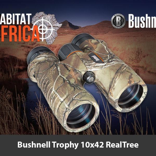 Bushnell Trophy 10x42 RealTree Camo Binoculars - Habitat Africa | Sport Optics | South Africa