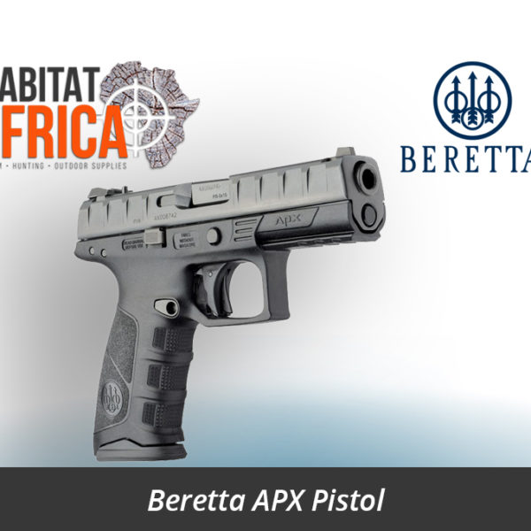 Beretta APX 9mm Semi Auto Striker Fired Pistol - Habitat Africa | Gun Shop | South Africa