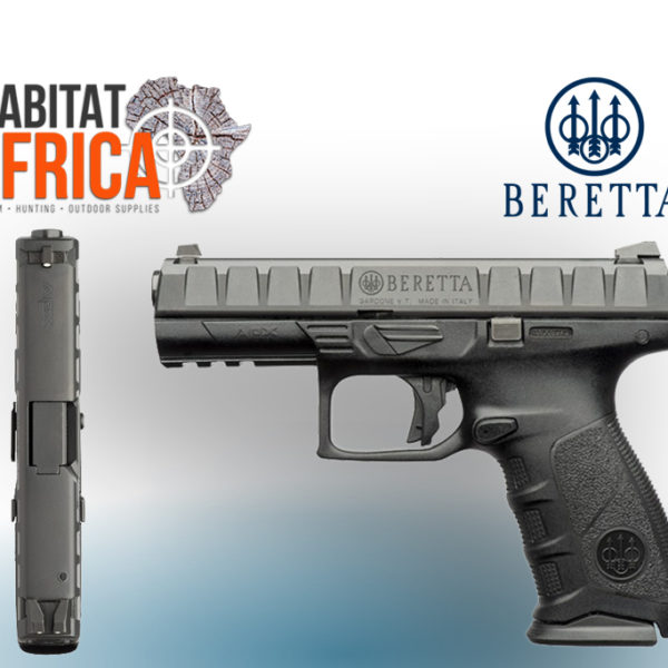 Beretta APX 9mm Striker Fired Pistol - Habitat Africa | Gun Shop | South Africa
