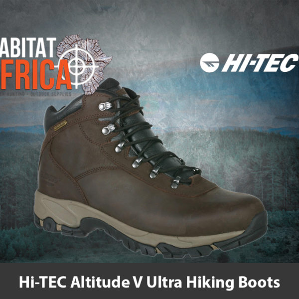 Hi-TEC Altitude V Ultra Waterproof Hiking Boots - Habitat Africa | Hiking Footwear | South Africa