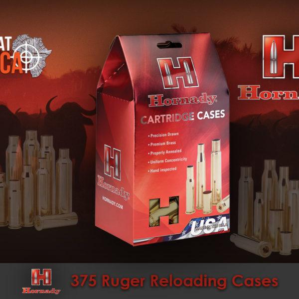 Hornady 375 Ruger Reloading Brass Cases Habitat Africa