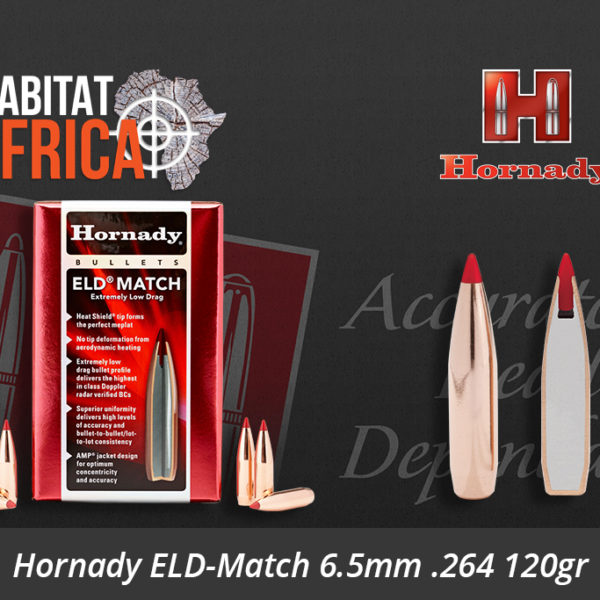Hornady ELD-Match 6.5mm 264 120gr Bullets