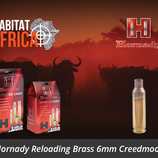 Hornady Reloading Brass 6mm Creedmoor - Habitat Africa | Gun Shop | South Africa