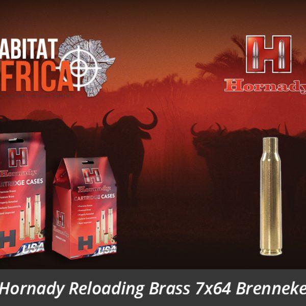 Hornady Reloading Brass 7x64 Brenneke - Habitat Africa | Gun Shop | South Africa