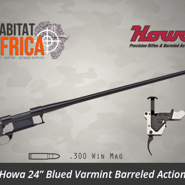 Howa 24 inch Blued Varmint 300 Winchester Magnum Barreled Action - Habitat Africa   Gun Shop   South Africa