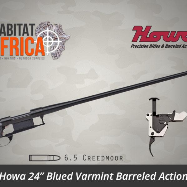 Howa 24 inch Blued Varmint 6.5 Creedmoor Barreled Action - Habitat Africa | Gun Shop | South Africa