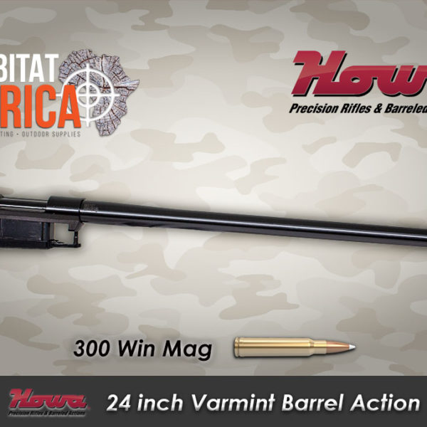 Howa Varmint 300 Win Mag habitat africa