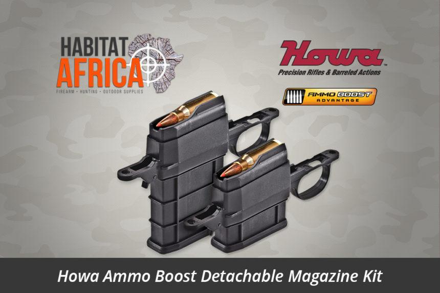 Howa Ammo Boost Detachable Magazine Drop-In KitHowa Ammo Boost Detachable Magazine Kit
