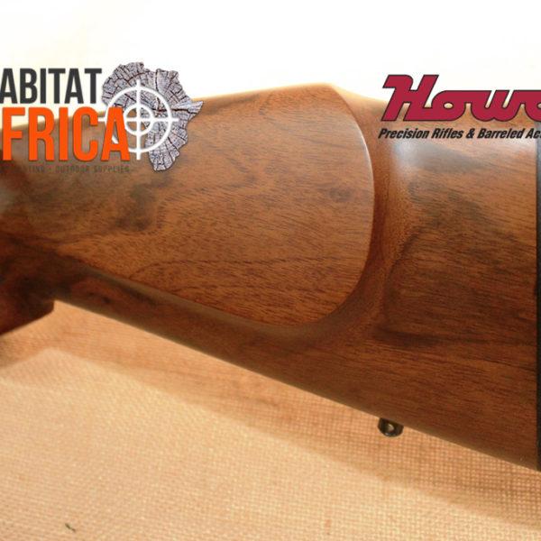 Howa Walnut Rifle Stock Recoil Pad