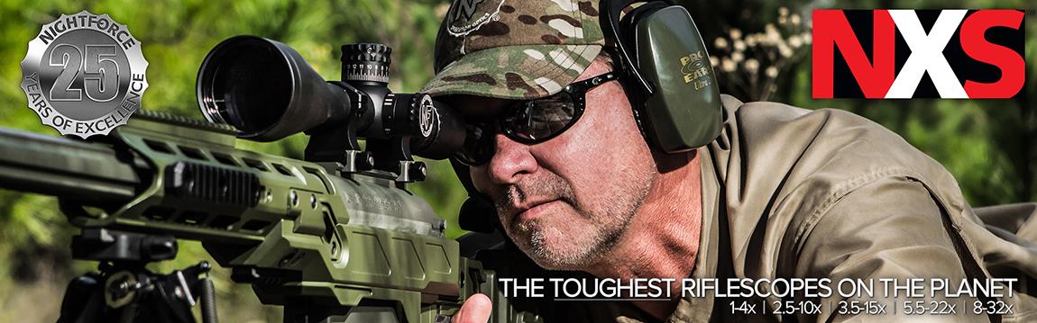 NighForce NXS Riflescopes - Habitat Africa | Gun Shop | South Africa