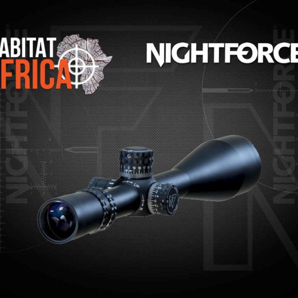 NightForce NXS 8-32x56 Riflescope Lense - Habitat Africa | Gun Shop | South Africa
