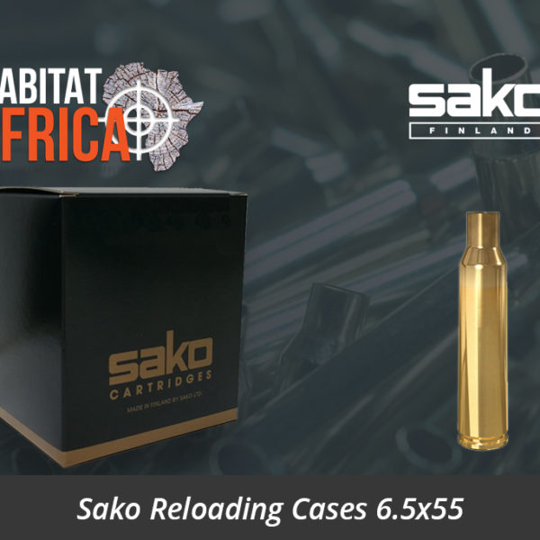 Sako Reloading Cases 6.5x55 Mauser Brass - Sako Reloading Brass
