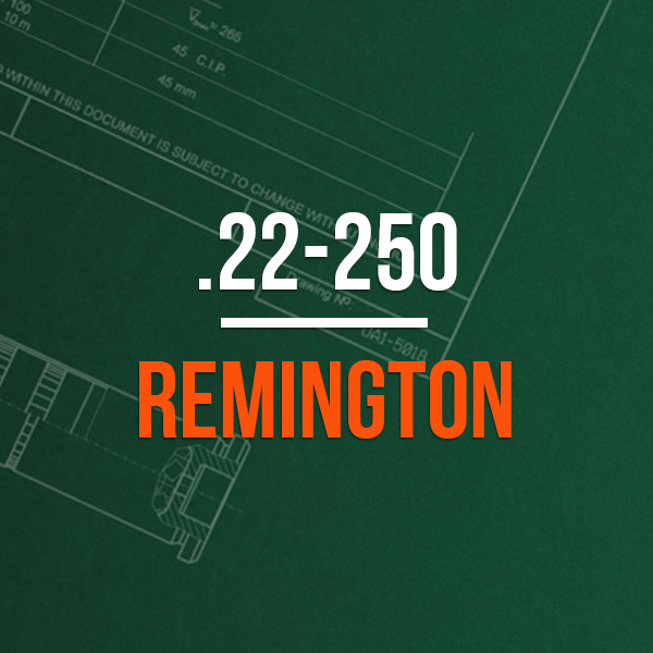 .22-250 Remington Hunting Rifle Caliber - 222-50 Remington Brass Caliber