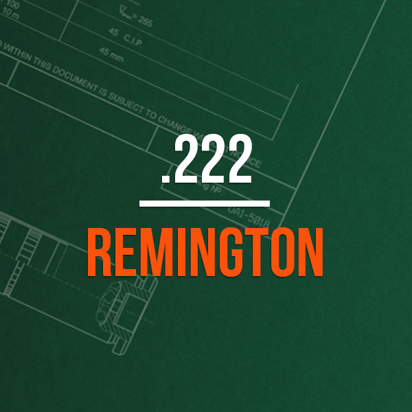 .222 Remington Hunting Rifle Caliber - .222 Remington Brass Caliber