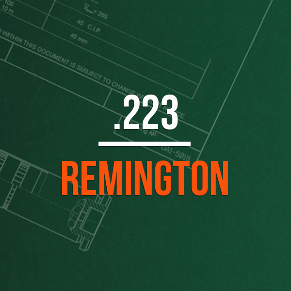 .223 Remington Hunting Rifle Caliber - .223 Remington Brass Caliber