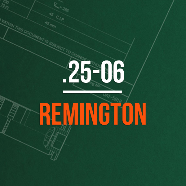 .25-06 Remington Hunting Rifle Caliber - .25-06 Remington Brass Calibers