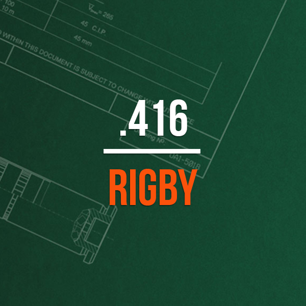 .416 Rigby Hunting Rifle Caliber - .416 Rigby Brass Caliber