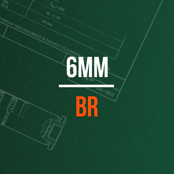 6mm BR Hunting Rifle Caliber