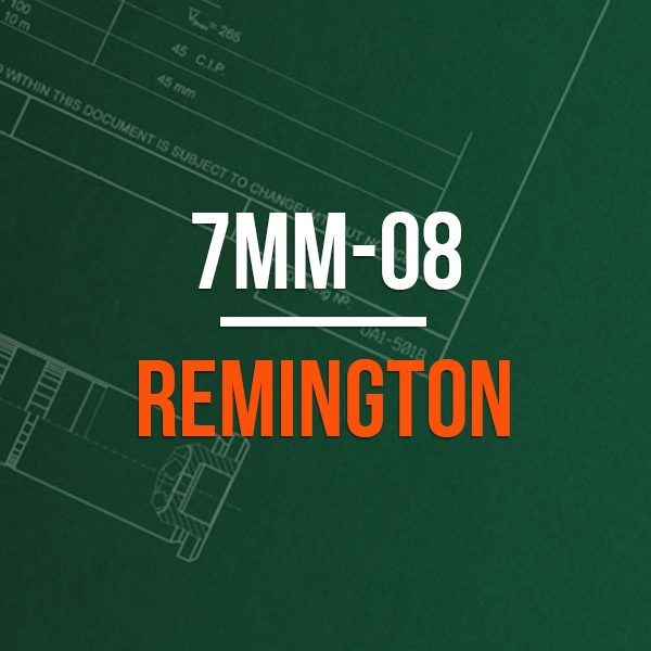 7mm-08 Remington Hunting Rifle Caliber - 7mm-08 Remington Brass Caliber