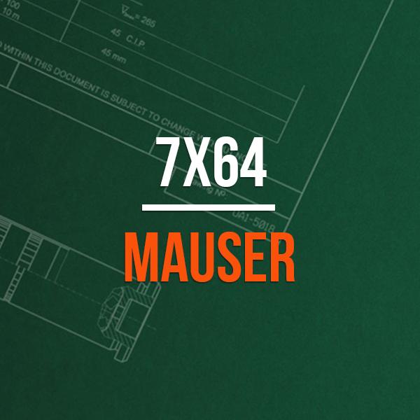 7x57 Mauser Brass