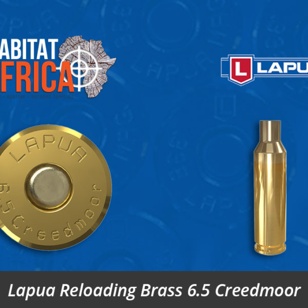 Lapua Reloading Brass 6.5 Creedmoor Brass Cases - Habitat Africa | Gun Shop | South Africa