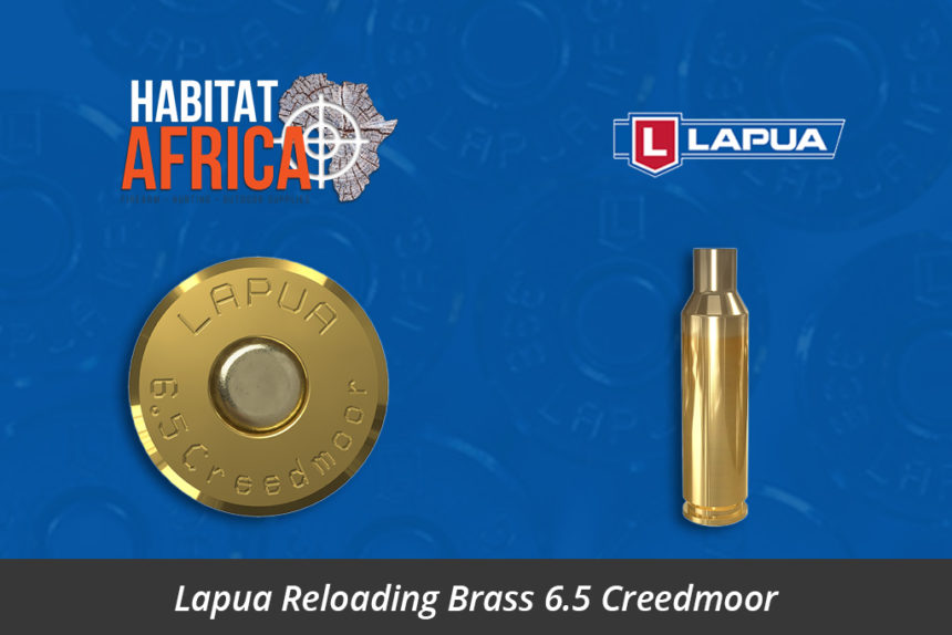 Lapua Reloading Brass 6.5 Creedmoor Brass Cases - Habitat Africa | Gun Shop | South Africa