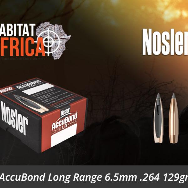 Nosler AccuBond Long Range 6.5mm 264 129gr Bullets