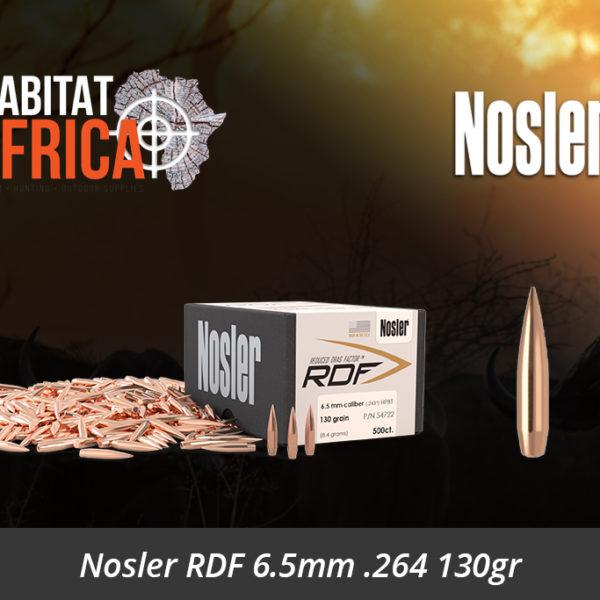 Nosler RDF 6.5mm 264 130gr HPBT Bullet - Habitat Africa | Gun Shop | South Africa