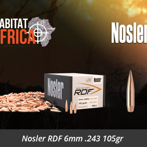 243 6mm Rifle Bullet Caliber - Habitat Africa | Gun Shop