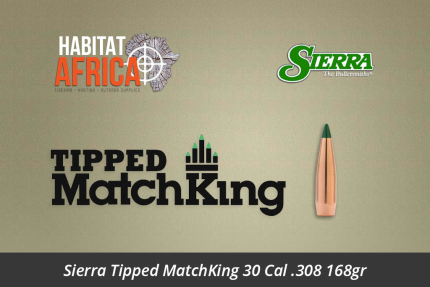 Sierra Tipped MatchKing 30 Cal 308 168gr Bullets 100pts