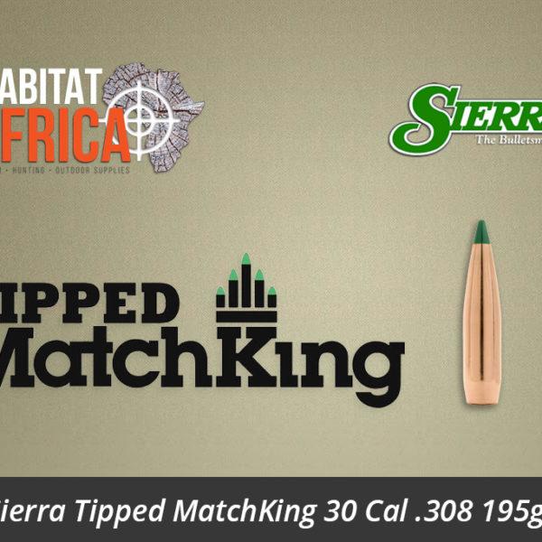 Sierra Tipped MatchKing 30 Cal 308 195gr Bullets - Habitat Africa | Gun Shop | South Africa
